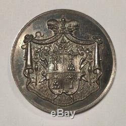 Città Del Vaticano- Sede Vacante 1939 Medaglia Argento Perfetta Fdc + Astuccio