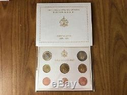Citta' Del Vaticano Serie 8 Monete Euro 2005 Sede Vacante Fdc Subalpina