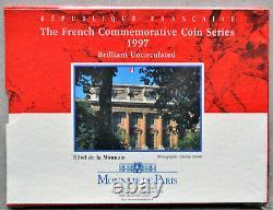 Coffret BU Série commémorative 1997 2 pièces (dont 100fr Malraux) France