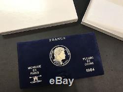 Coffret France BU 1984 FDC Monnaie de Paris SUPERBE