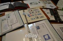 Collection TAAF en 8 volumes album safe + classeur fdc plis gravure cote 4000