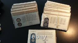 Complete 1999-2009 Quarters Statehood & Territories First Day Covers (Lot of 56)