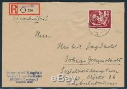 DDR 1950, Mi. 260 FDC! Seltener FDC mit FA! Mi. 800,-