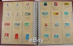DDR 1962-1990 Sammlung mit ca. 2.000 MINI-FDC´s in 5 Bänden (47034)