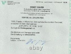 DDR-FDC Friedenskampf, Befund Mayer VP