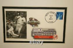Derek Jeter Autographed 8 x 10 Photo First Day Cover! COA