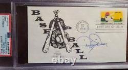 Dizzy Dean PSA DNA Coa Hand Signed 1969 FDC Cache Autograph