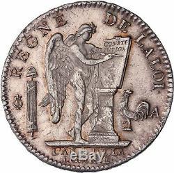 Ecu au Genie 1792 A Paris Superbe à FDC avec son brillant de frappe