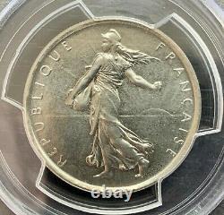 Epreuve Du 5 Francs Semeuse Nickel 1969 -type 10g Pcgs Sp67