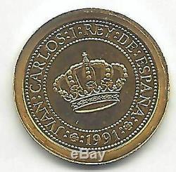 España 1991 V Centenario 5.000 Pesetas oro 3ª Fernando VI FDC
