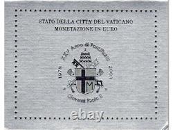 Euro VATICANO 2003 in Folder Ufficiale FDC