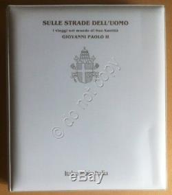 FDC Italcambio I Viaggi nel Mondo di Papa Giovanni Paolo II 12 Volumi