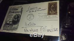 FIRST DAY COVER with TWO SIGNATURES of DUKE & DUCHESS of WINDSOR. EDWARD the 8th