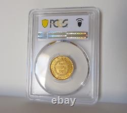 FRANCE 20 francs or/gold 1886A PCGS MS66 (FDC)