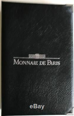 FRANCE Coffret FDC 1989 La Monnaie de Paris // Série FLEURS DE COINS