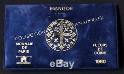 Fdc 1980 Rare 50f Hercule