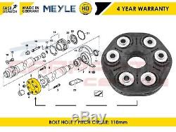 For Bmw Centre Propshaft Joint Mount Meyle Germany 4 Years Warranty 26117542238