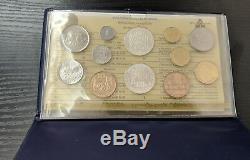 France Coffret Monnaie de Paris FDC Fleur de Coin 1985 12 pièces