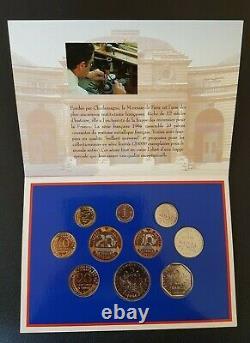 France Francia French Coins Coffret Monnaie De Paris 1994 Bu