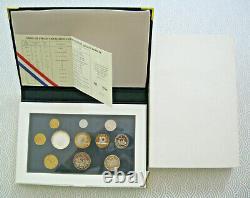 France. Joli coffret ou série BE en Francs 1995. FDC