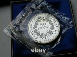 France. Piefort 50 Francs Hercule 1974 FDC/UNC