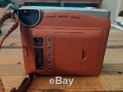 Fujifilm Instax Mini 90 Neo Classic Brown Original Box with film and Bag