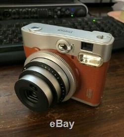 Fujifilm Instax Mini 90 Neo Classic Instant Film Camera Brown