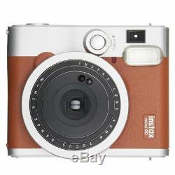 Fujifilm Instax Mini 90 Neo Classic Instant Film Camera, Brown