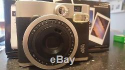 Fujifilm Instax Mini 90 Neo Classic Instant Film Vintage Camera Used Starter Kit