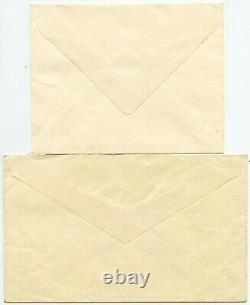 GB 1955 Waterlow Castles First Day Covers Set Higher Bevendean Sussex Postmarks