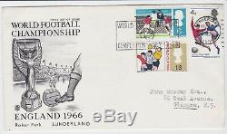 GB Stamps 1966 World Cup First Day Cover Sunderland Slogan Unbelievably Rare