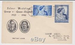 GB Stamps First Day Cover 1948 Silver Wedding Illustrated Ealing Rare Buy It Now