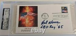 GENERAL HAL MOORE- WE WERE SOLDIERS- Signed/AUTOGRAPHED FDC -PSA SLAB