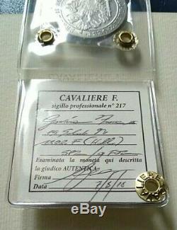 Gorizia 15 soldi RARA Francesco II 1802 SPL/FDC