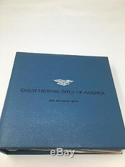 Great Historic Sites Of America First Edition Proofs In First Day Covers Vol 1