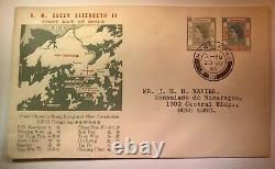 HONG KONG 1954-62 QUEEN ELIZABETH II First day of issue