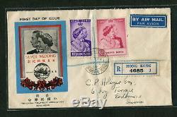 Hong Kong 1948 Wedding First day cover