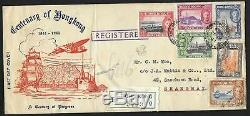 Hong Kong covers 1941 R-FDC cover to Shanghai Scarce