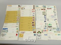 Huge Lot 625 Canada FDC+ Special Events First Day Covers Rare Stamps, Cancels ++