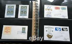 IRLAND Enorme Sammlung bis 1994 in 5 Bänden MH/Kleinbogen/FDC/Serien Riesen Wert