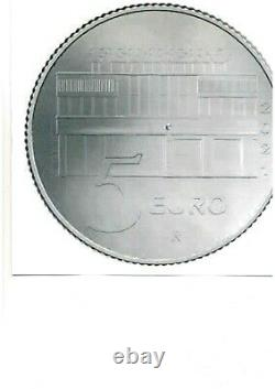 ITALIA 2021 moneta da 5 EURO Argento FDC NUTELLA BIANCA