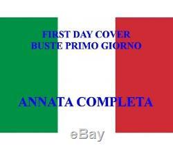 ITALIA REPUBBLICA 1992 FDC (Venetia) Annata Completa 46 Buste