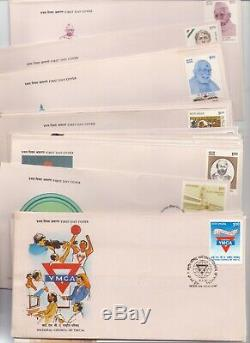 India 1992 Year Pack Complete Commemorative First Day Covers