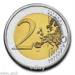 Italy 2 euro 18 coins 2004 2015, UNC Italie Italia Italien FDC