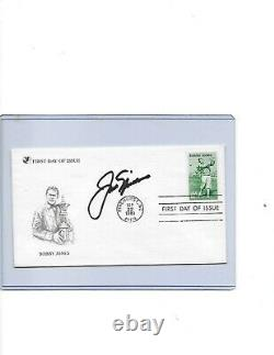 Jack Nicklaus signed Bobby Jones First Day Cover