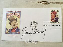 James Stewart and Frank Capra two signed first day covers