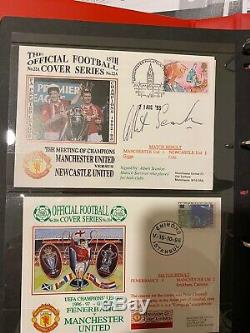 Job Lot Of 96 Manchester United First Day covers