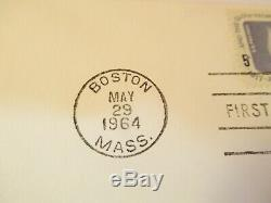 John F Kennedy 1964 First Day Issue Postal Stamp Envelope As Pictured &2-dt