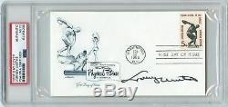 Johnny Unitas Signed First Day Cover PSA/DNA Colts Autographed Slabbed