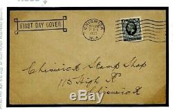 K333 GB 1935 FDC Cachet FIRST DAY COVER 4d Photogravure samwells
